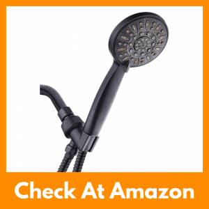 AquaDance High Pressure 6-Setting Oil Rubbed Bronze Handheld Shower Review