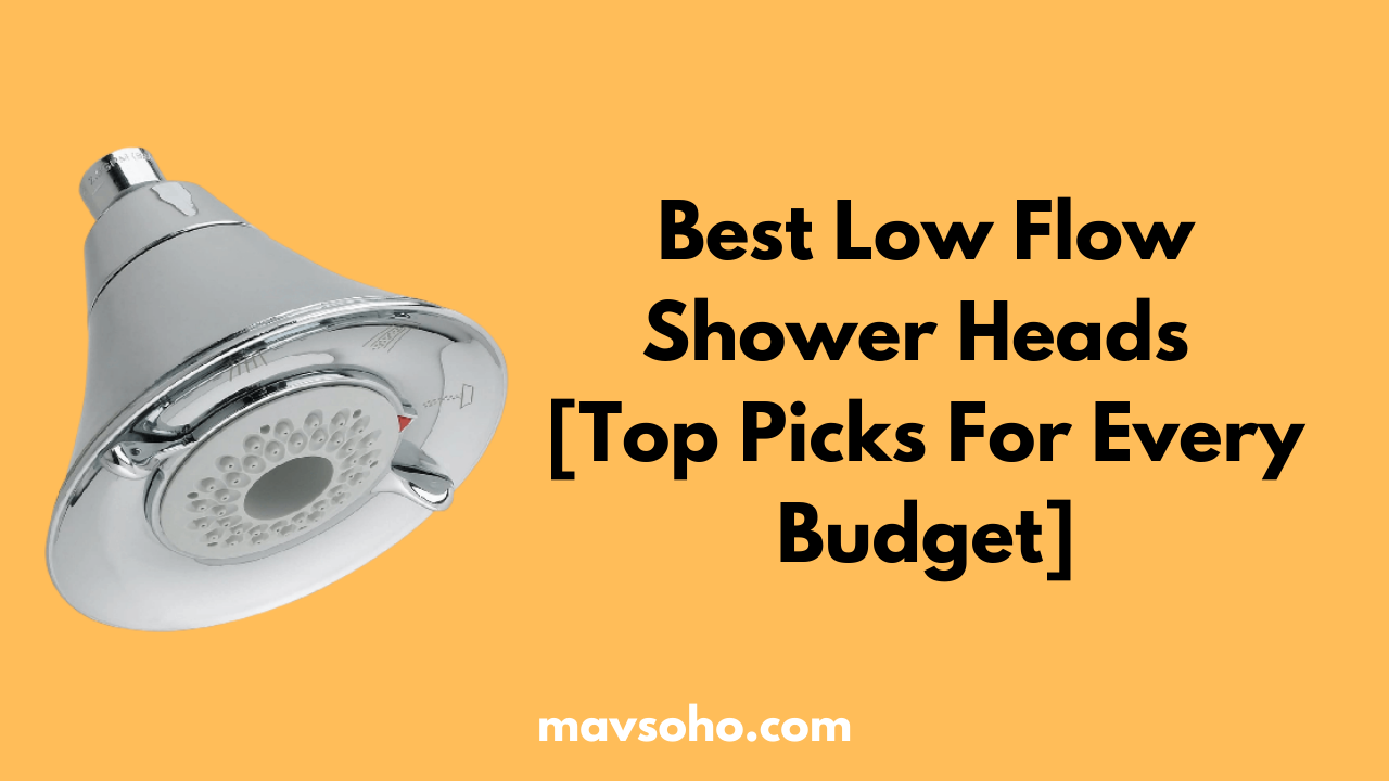 Best Low Flow Shower Heads Review