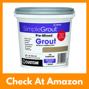 Custom Sandstone PMG180QT 1-Quart Premium Grout Review