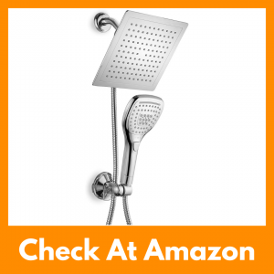 DreamSpa Ultra-Luxury Rainfall Shower Head Handheld Combo Review