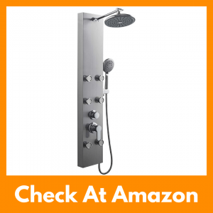 ROVOGO 304 Adjustable Stainless Steel Shower Panel Review